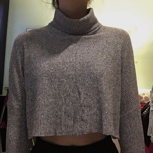 ⚡️CROPPED TURTLE NECK⚡️